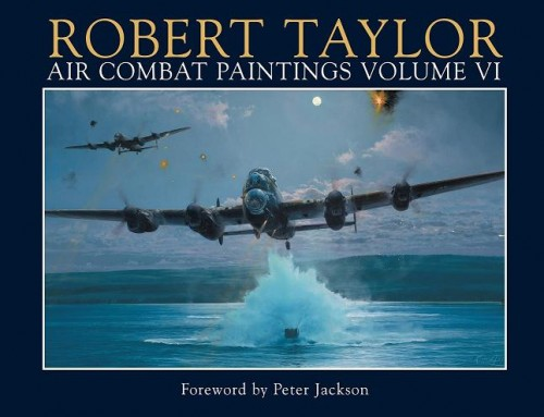 Air Combat Paintings Vol 6 With RAF Cover