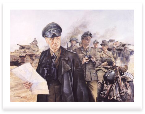 Erwin Rommel by Chris Collingwood
