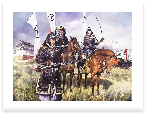 Samurai Warriors by Chris Collingwood