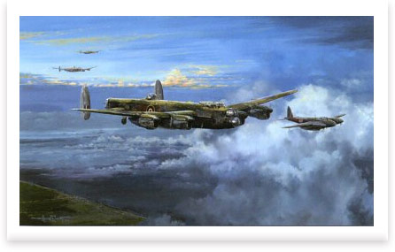 Bomber Command Target Berlin by Michael Rondot