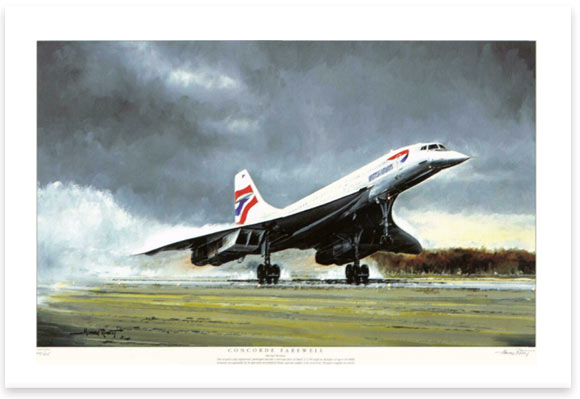 Concorde Farewell by Michael Rondot