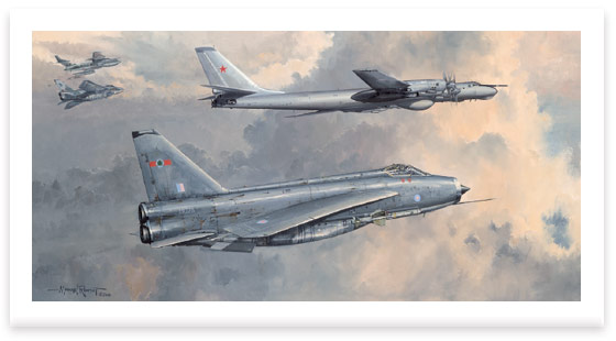 Lightning Cold War Intercept by Michael Rondot
