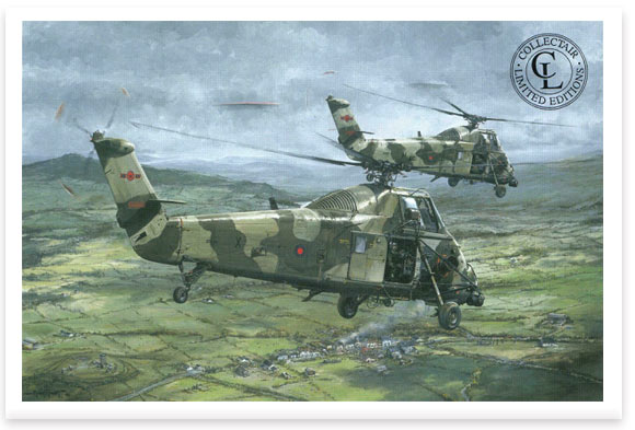Wessex over South Armagh by Michael Rondot