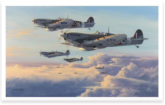 Spitfires – High Patrol by Philip E West