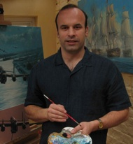 Photo of Anthony Saunders - Aviation and Marine Artist