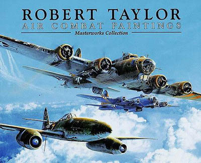 The cover of Air Combat Paintings by Robert Taylor