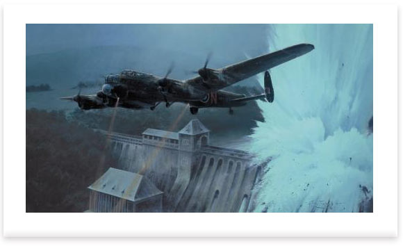 Dambusters - Breaching The Eder Dam by Robert Taylor