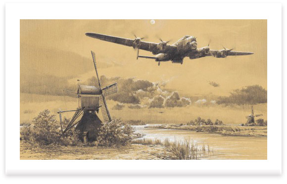 The Dambusters - Inbound To Target by Robert Taylor