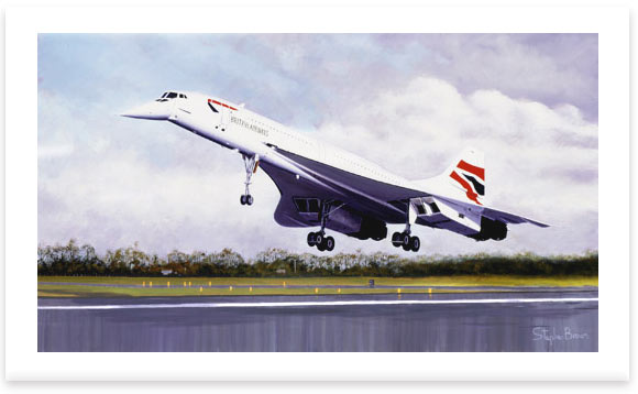 Concorde – The Final Touch Down by Stephen Brown