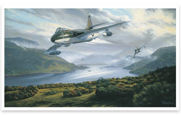 Hunters Over The Lakes by Stephen Brown