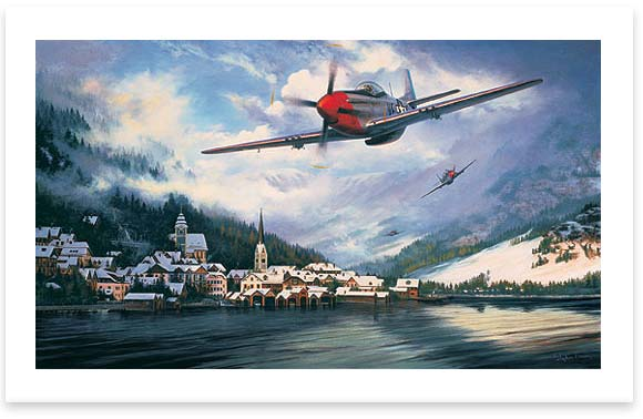 Mustangs Over the Reich by Stephen Brown