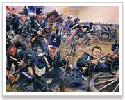 Photo of The 95th Rifle Brigade at the Battle of Fuentes De Onoro, 5th May 1811